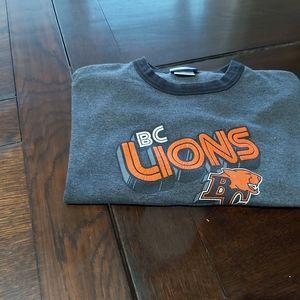 BC LIONS  T-SHIRT~short sleeve/ B1
